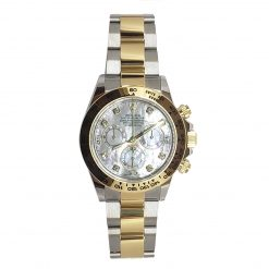 Rolex Oyster Perpetual Cosmograph Daytona Stainless Steel & 18K Yellow Gold Watch 116503-md