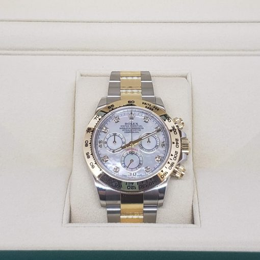 Rolex Oyster Perpetual Cosmograph Daytona Stainless Steel & 18K Yellow Gold Watch, 116503-md 4