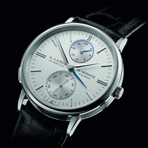 A. Lange & Sohne Saxonia Dual Time 38.5mm Mens Watch, 386.026 3