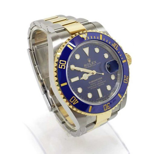 Rolex Oyster Perpetual Submariner 18K Yellow Gold & Stainless Steel & Ceramic Men's Watch, 116613 LB 8