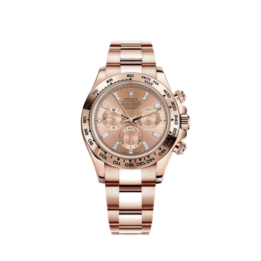 Rolex Oyster Perpetual Cosmograph Daytona 18K Rose Gold Unisex Watch, 116505