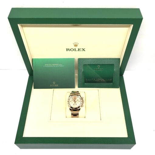 Rolex Oyster Perpetual Cosmograph Daytona 18K Rose Gold Unisex Watch, 116505 5