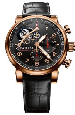 Graham Silverstone Tourbillograph Limited Men`s Watch Pre.owned_2TSARB04A