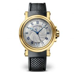 Breguet Marine Automatic Big Date 18K Yellow Gold Men's Watch preowned.5817BA/12/5V8