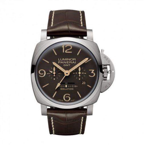 Panerai Luminor 1950 Equation of Time 8 Days GMT TitanIo 47 mm Men's Watch, PAM00656