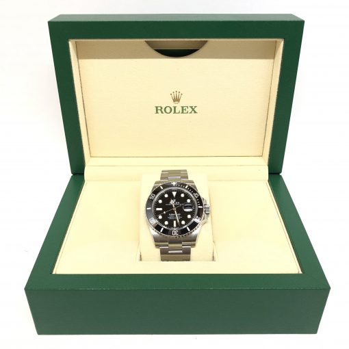 Rolex Oyster Perpetual Submariner Stainless Steel & Ceramic Men's Watch, 126610-LN 4