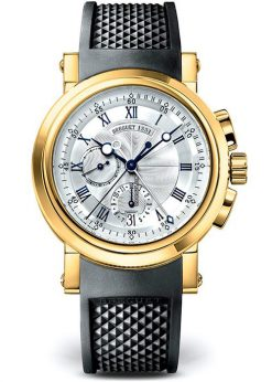 Brequet Marine 5827 18K Yellow Gold Men's Watch 5827BA/12/5ZU