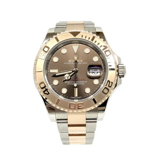 Rolex Oyster Perpetual Yacht-Master Stainless Steel & 18K Everose Gold Men's Watch, 116621
