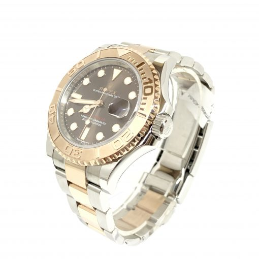 Rolex Oyster Perpetual Yacht-Master Stainless Steel & 18K Everose Gold Men's Watch, 116621 2