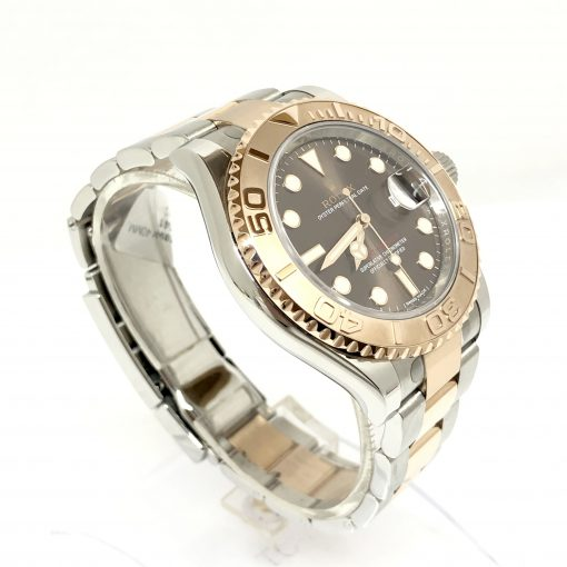 Rolex Oyster Perpetual Yacht-Master Stainless Steel & 18K Everose Gold Men's Watch, 116621 3