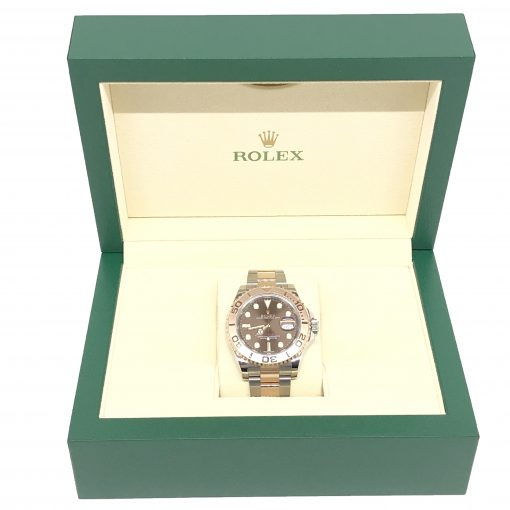 Rolex Oyster Perpetual Yacht-Master Stainless Steel & 18K Everose Gold Men's Watch, 116621 4