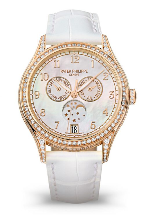 Patek Philippe Complications 38mm Rose Gold MOP Dial Lady's Watch, 4948R-001