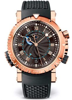 Brequet Marine 5847 18K Rose Gold Men's Watch 5847BR/Z2/5ZV