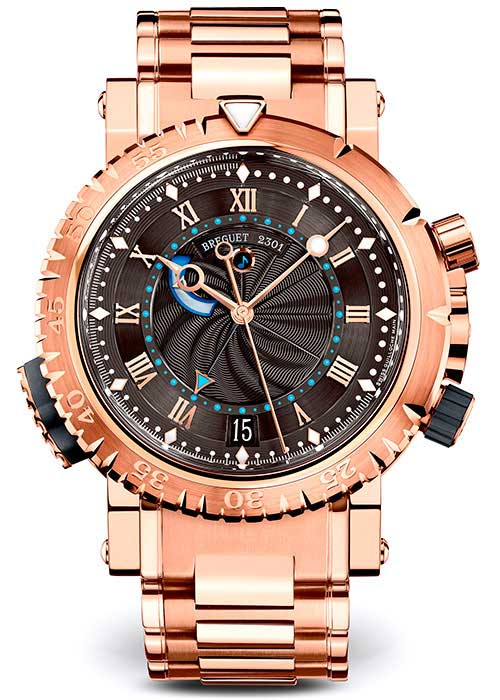 Brequet Marine 5847 18K Rose Gold Men's Watch, 5847BR/Z2/RZ0