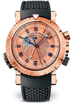 Brequet Marine 5847 18K Rose Gold Men's Watch 5847BR/32/5ZV