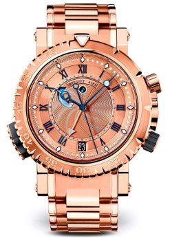 Brequet Marine 5847 18K Rose Gold Men's Watch 5847BR/32/RZ0