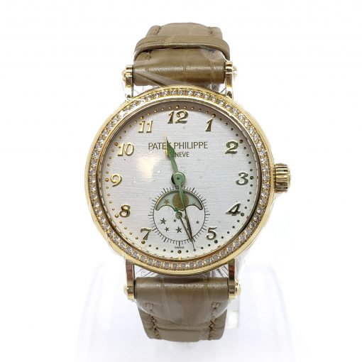 Patek Philippe Complications 33mm Yellow Gold and Diamonds Ladies Watch, 7121J-001 4