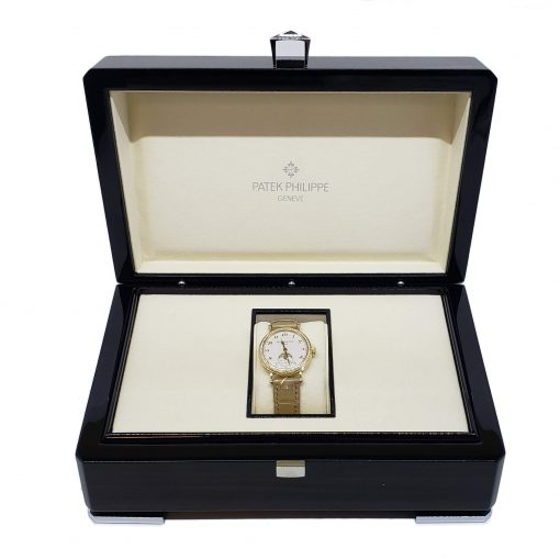 Patek Philippe Complications 33mm Yellow Gold and Diamonds Ladies Watch, 7121J-001 2