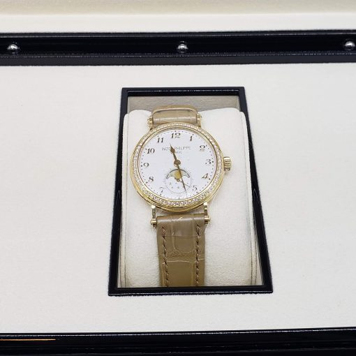 Patek Philippe Complications 33mm Yellow Gold and Diamonds Ladies Watch, 7121J-001 3