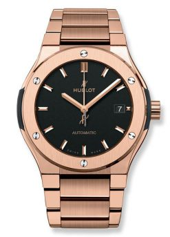 Hublot Classic Fusion 45mm King Gold Bracelet Automatic Watch 510.OX.1180.OX