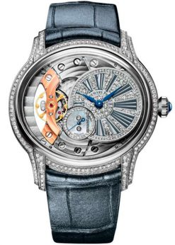 Audemars Piguet Millenary Hand-Wound 18K White Gold & Diamonds Ladies Watch 77248BC.ZZ.A111CR.01