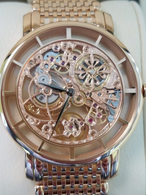 Patek Philippe Complications Skeletonized Ultra Thin 39mm Rose Gold Men's Watch with Bracelet, 5180/1R-001 6