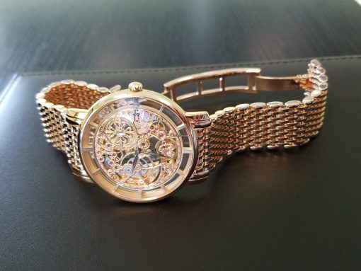 Patek Philippe Complications Skeletonized Ultra Thin 39mm Rose Gold Men's Watch with Bracelet, 5180/1R-001 2