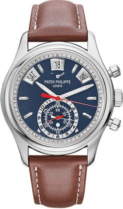 Patek Philippe Complications Flyback Chronograph 40.5mm White Gold Men's Watch 5960/01G-001
