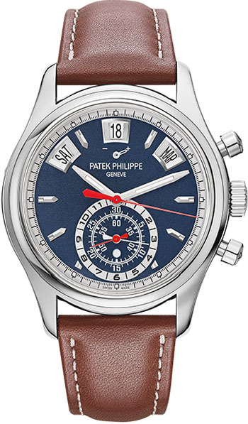 Patek Philippe Complications Flyback Chronograph 40.5mm White Gold Men's Watch, 5960/01G-001