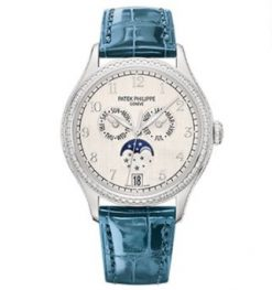 Patek Philippe Complications 38mm White Gold Lady's Watch 4947G-010