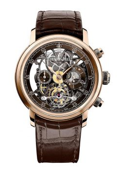 Audemars Piguet Jules Audemars Tourbillon Chronograph 18K Pink Gold Men's Watch 26346OR.OO.D088CR.01