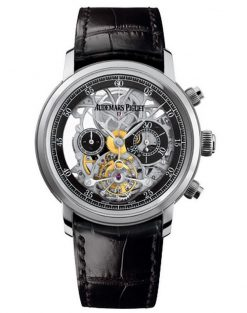 Audemars Piguet Jules Audemars Tourbillon Chronograph 18K White Gold Men's Watch 26346BC.OO.D002CR.01