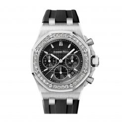 Audemars Piguet Royal Oak Offshore Chronograph Stainless Steel & Diamonds Ladies Watch 26231ST.ZZ.D002CA.01
