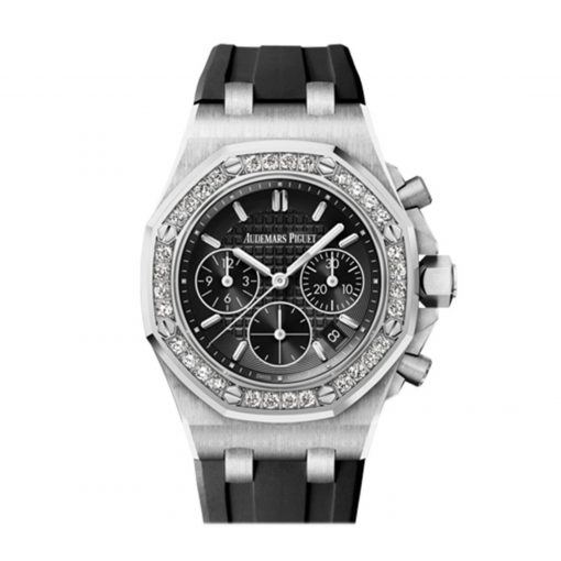 Audemars Piguet Royal Oak Offshore Chronograph Stainless Steel & Diamonds Ladies Watch, 26231ST.ZZ.D002CA.01