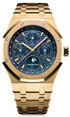 Audemars Piguet Royal Oak Perpetual Calendar 18K Yellow Gold Men's Watch 26574BA.OO.1220BA.01