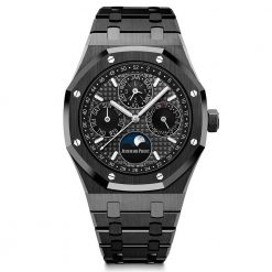 Audemars Piguet Royal Oak Prepetual Calendar Ceramic Men's Watch 26579CE.OO.1225CE.01