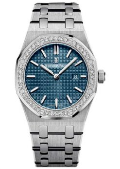 Audemars Piguet Royal Oak Quartz Titanium & Platinum Ladies Watch 67651IP.ZZ.1261IP.01