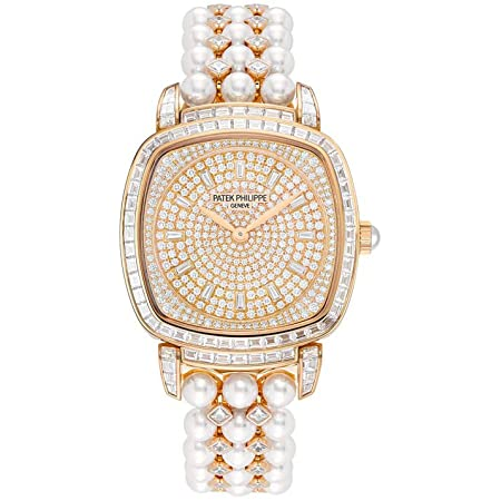 Patek Philippe Gongolo Rose Gold and Diamonds Ladies Watch, 7042/100R-010