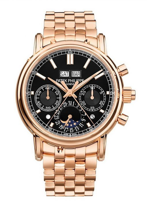 Patek Philippe Grand Complications 40.2mm Rose Gold Men's Watch with Bracelet, 5204/1R-001