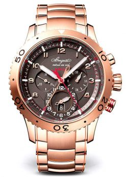 Brequet Type XX – XXI – XXII 3880 18K Rose Gold Men's Watch 3880BR/Z2/RXV