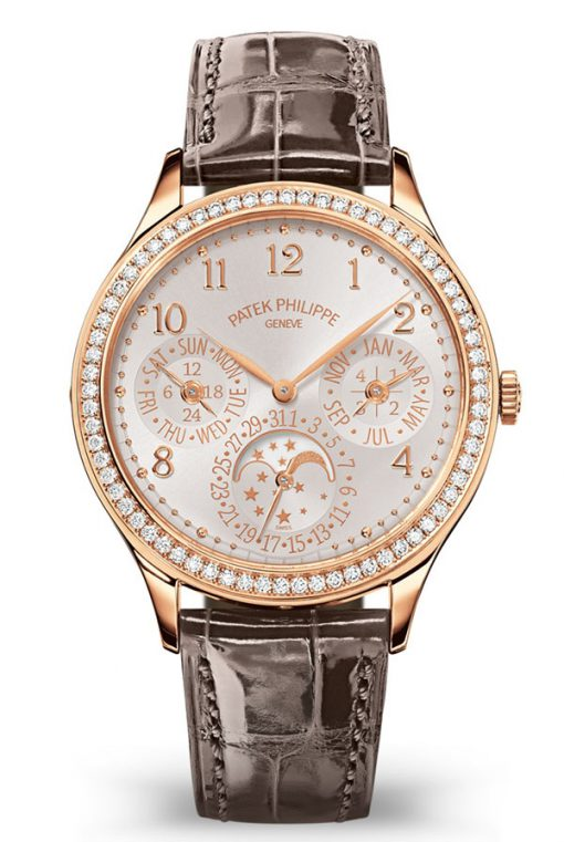Patek Philippe Grand Complications Perpetual Calendar 35.1 mm Rose Gold Ladies Watch, 7140R-001