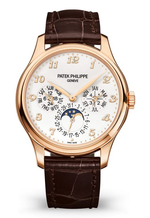 Patek Philippe Grand Complications Ultra-Thin Perpetual Calendar 39mm Rose Gold Men's Watch, 5327R-001