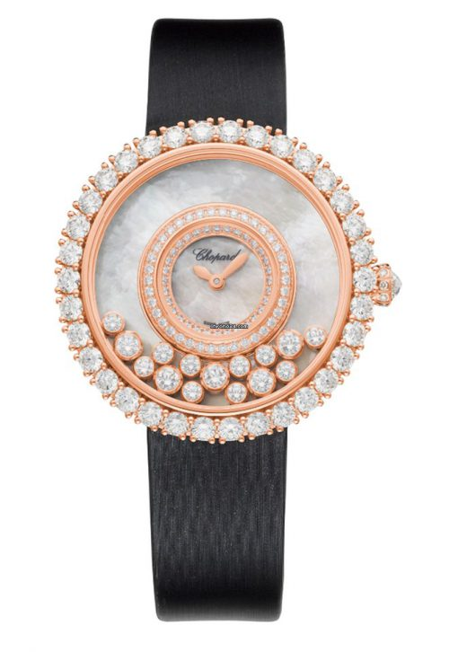 Chopard Happy Dreams 18K Rose Gold & Diamonds Ladies Watch, 204445-5001