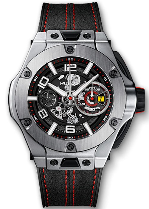 Hublot Big Bang Ferrari Unico Titanium Limited Edition Men's Watch, 402.NX.0123.WR