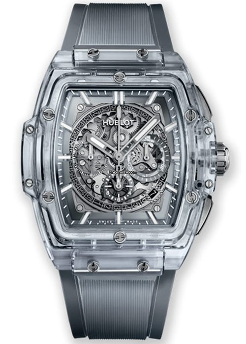 Hublot Spirit of Big Bang Chronograph Sapphire Crystal Men's Watch, 601.JX.0120.RT