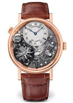 Brequet Tradition 7067 18K Rose Gold Men's Watch 7067BR/G1/9W6