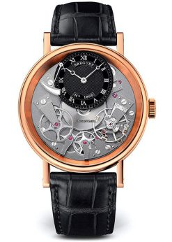 Brequet Tradition 7057 18K Rose Gold Men's Watch 7057BR/G9/9W6