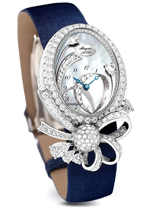 Brequet High Jewellery Le Petit Trianon 18K White Gold & Diamonds Ladies Watch, GJ27BB8924/DDD8