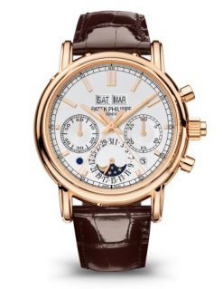 Patek Philippe Grand Complications Perpetual Calendar 40.2mm Rose Gold Men's Watch 5204R-001