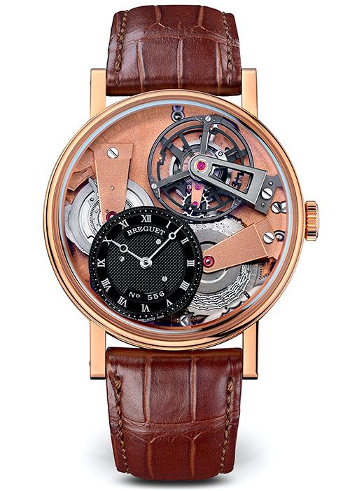 Brequet Tradition 7047 18K Rose Gold Men's Watch, 7047BR/R9/9ZU
